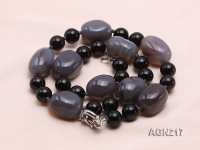12mm Agate Necklace