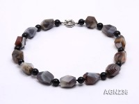 20x16mm Irregular Agate Necklace