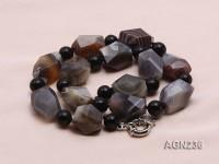 20x16mm Irregular Agate Necklace