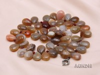 20x15mm Drop-shaped Agate Necklace
