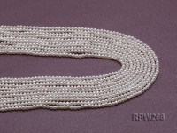 Wholesale 2.5-3mm Classic White Round Freshwater Pearl String