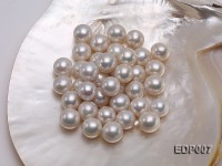 14-15mm White Round Loose Edison Pearl