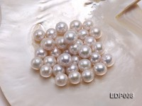 13-14mm White Round Loose Edison Pearl