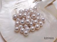 14-15mm White Round Loose Edison Pearl