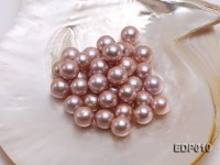 14-15mm Lavender Round Loose Edison Pearl