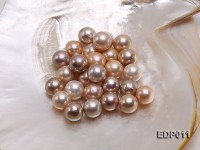 14-16mm Pink Round Loose Edison Pearl