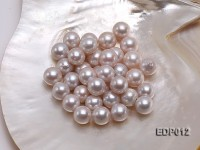 14-16mm White Round Loose Edison Pearl
