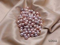 10*13mm Drop-shaped Lavender Freshwater Loose Pearl