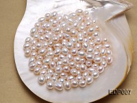 10*13mm Drop-shaped White Freshwater Loose Pearl