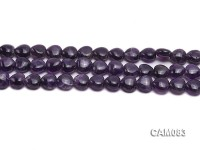 Wholesale 6x9x10mm Heart-shaped Amethyst Beads Loose string