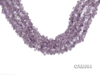 Wholesale 4x7mm Drop-shaped Amethyst Beads Loose string