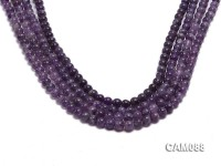 Wholesale 6.5mm Round Amethyst Beads Loose string