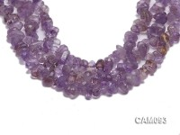 Wholesale 10x16mm Baroque Faceted Amethyst Pieces Loose string