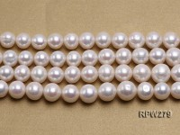 Wholesale 12-14mm Classic White Round Freshwater Pearl String