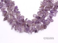 Wholesale 8x15mm Baroque Amethyst Chips Loose string