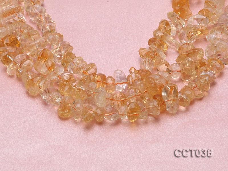 Wholesale 8×12-12x16mm Irregular Citrine Beads Loose String