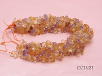 Wholesale 10x15mm Irregular Faceted Ametrine Beads String