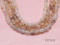 Wholesale 8x12mm Irregular Citrine Beads Loose String