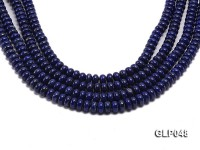 Wholesale 6x12mm Wheel-shaped Lapis Lazuli Beads Loose String