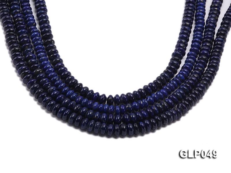 Wholesale 5x8mm Wheel-shaped Lapis Lazuli Beads Loose String