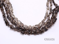 Wholesale 6x11mm Irregular Smoky Quartz Beads Loose String