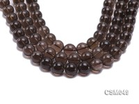Wholesale 15mm Round Smoky Quartz Beads Loose String