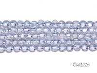 Wholesale 10mm Heart-shaped Simulated Aquamarine Beads Loose String