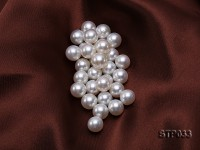 13-14mm White Round South Sea Pearl