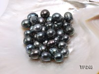 14x16mm Black Teardrop Loose Tahitian Pearls