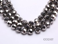Wholesale 16mm Round Faceted Synthetic Quartz Beads Loose String