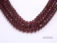 Wholesale 10x13mm Faceted Synthetic Quartz Beads Loose String