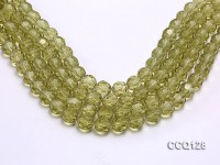 Wholesale 11.5mm Faceted Synthetic Quartz Beads Loose String