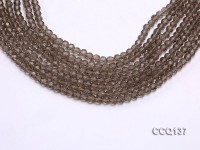Wholesale 4.5mm Round Faceted Synthetic Quartz Beads Loose String