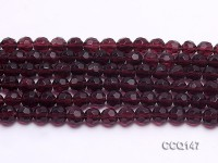 Wholesale 8mm Round Faceted Synthetic Quartz Beads Loose String