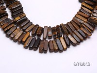 Wholesale 5x20mm Tiger Eye Sticks Loose String