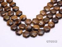 Wholesale 20mm Star-shaped Tiger Eye Pieces Loose String