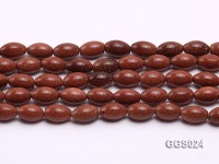 Wholesale 8x12mm Oval Goldstone Beads Loose String