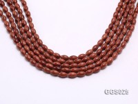 Wholesale 6x10mm Oval Goldstone Beads Loose String