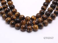 Wholesale 20mm Round Tiger Eye Beads Loose String
