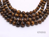 Wholesale 6-15mm Round Tiger Eye Beads Loose String