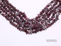 Wholesale 5x8mm Irregular Garnet Pieces Loose String