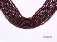 Wholesale 4mm Irregular Garnet Beads Loose String