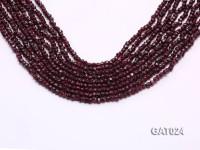 Wholesale 4mm Irregular Garnet Beads Loose String