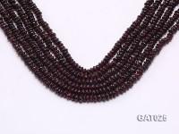 Wholesale 5.5mm Flat Garnet Beads Loose String