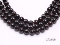Wholesale 12mm Round Garnet Beads Loose String