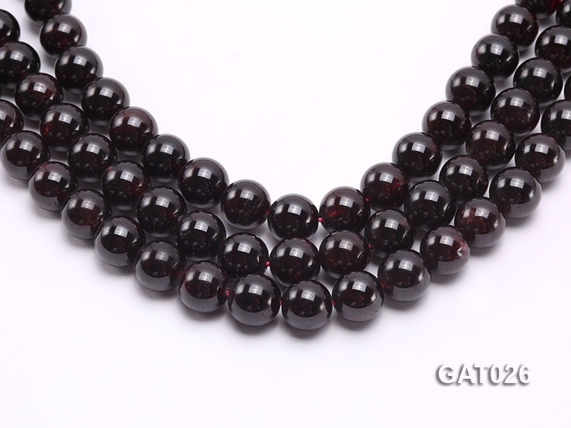 Wholesale 12mm Round Garnet Beads Loose String