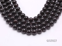 Wholesale 12.5mm Round Garnet Beads Loose String