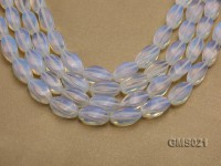 Wholesale 10x20mm Oval Milky Moonstone Beads Loose String