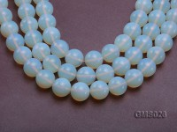 Wholesale 20mm Round Milky Moonstone Beads Loose String