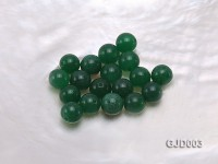 Wholesale 8mm Round Loose Green Jade Beads